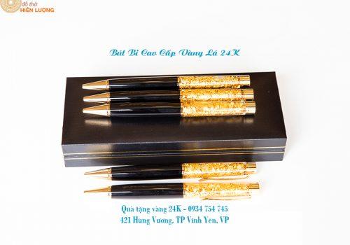 Bút Bi Vàng Lá Cao Cấp