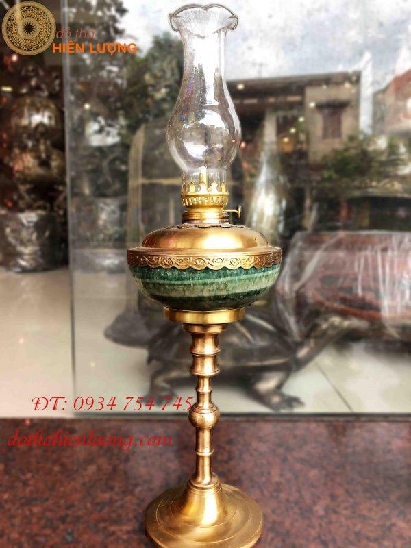 Đèn Dầu Bằng Đồng