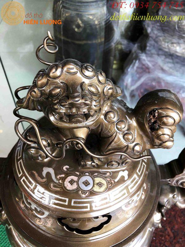 Đỉnh Tam Khí Khảm 5 Chữ Vàng