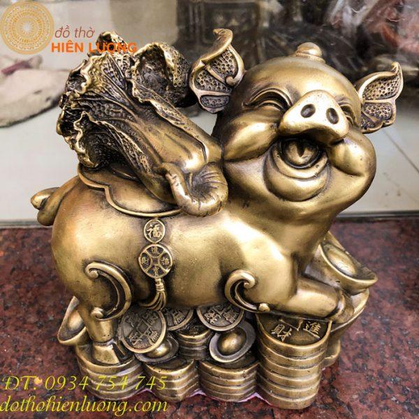 Lợn Phát Tài Bằng Đồng
