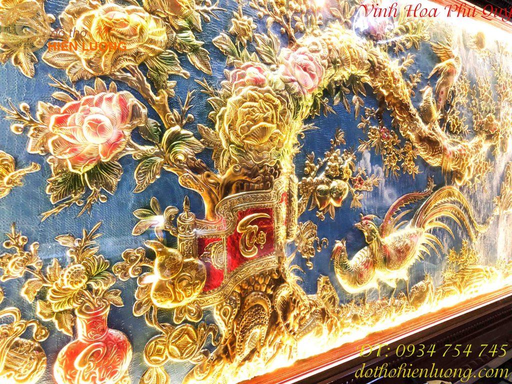 Tranh Vinh Hoa Phú Quý