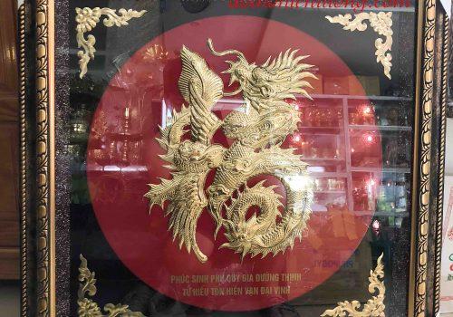 Chữ Phúc Hóa Rồng