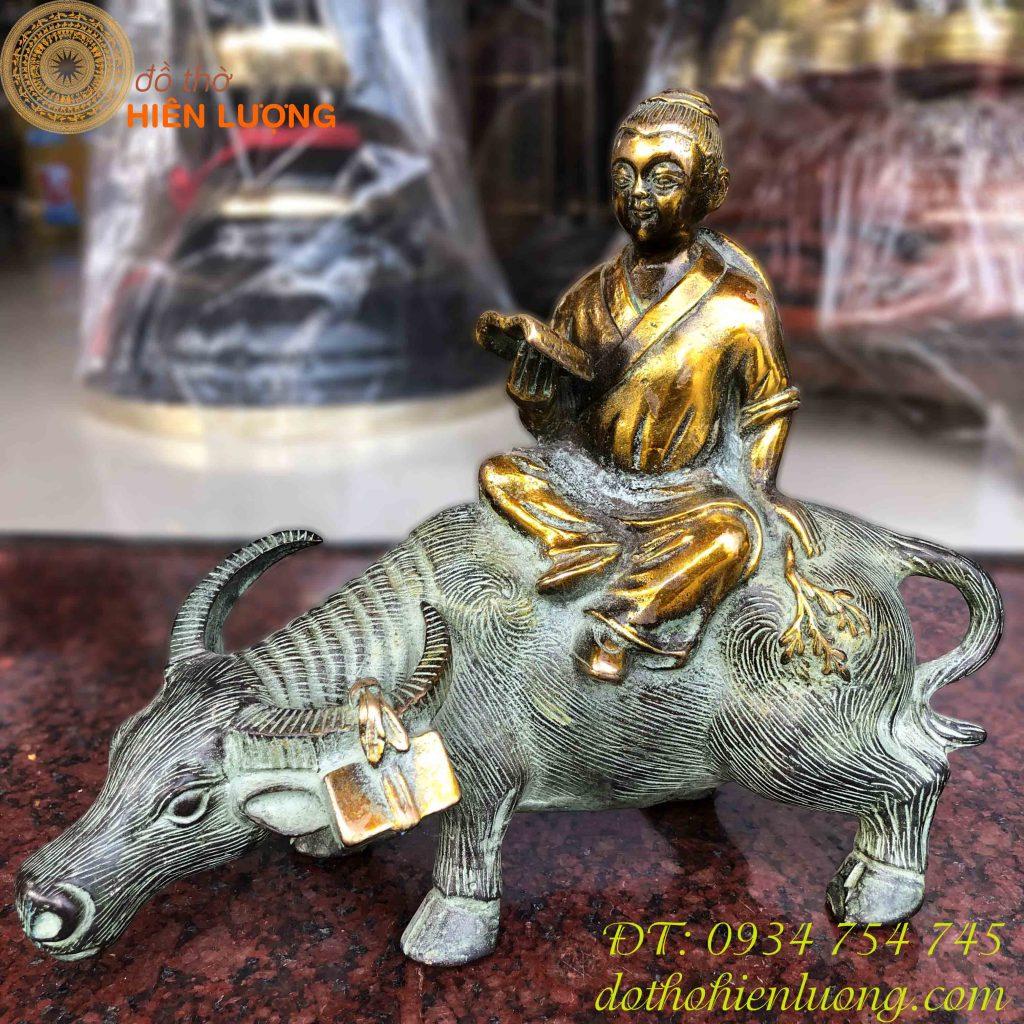 Tượng Trâu Phong Thủy