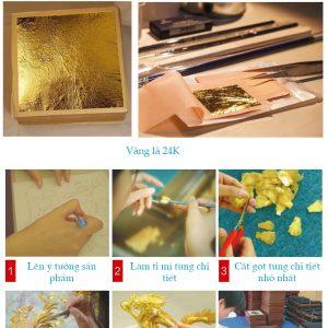 Quy trình sản phẩm quà tặng vàng