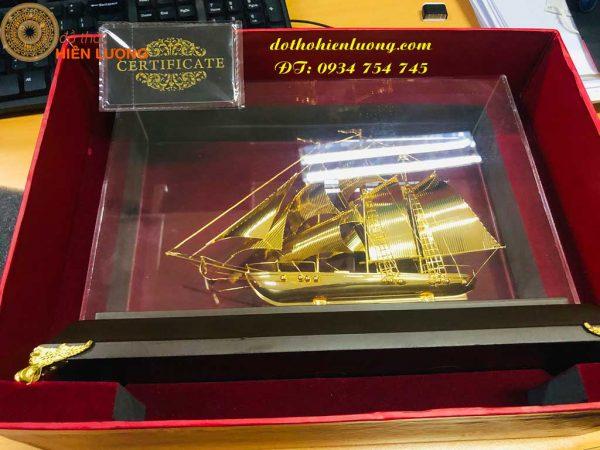 Thuận Buồm Xuôi Gió Mạ Vàng