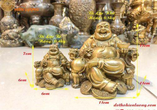 Phật Di Lậc Ngồi Ghế Rồng