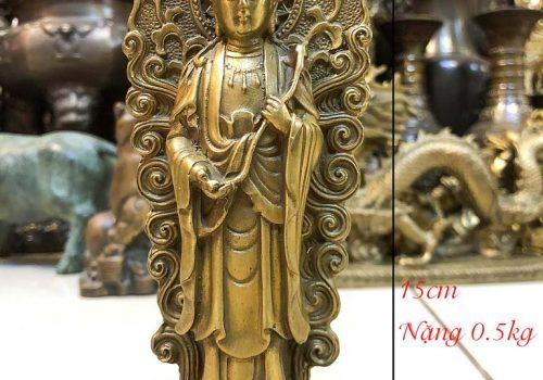 Tượng Phật Bà Đứng Bằng Đồng