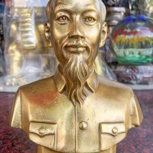 Tượng Chân Dung Bác Hồ Để Bàn