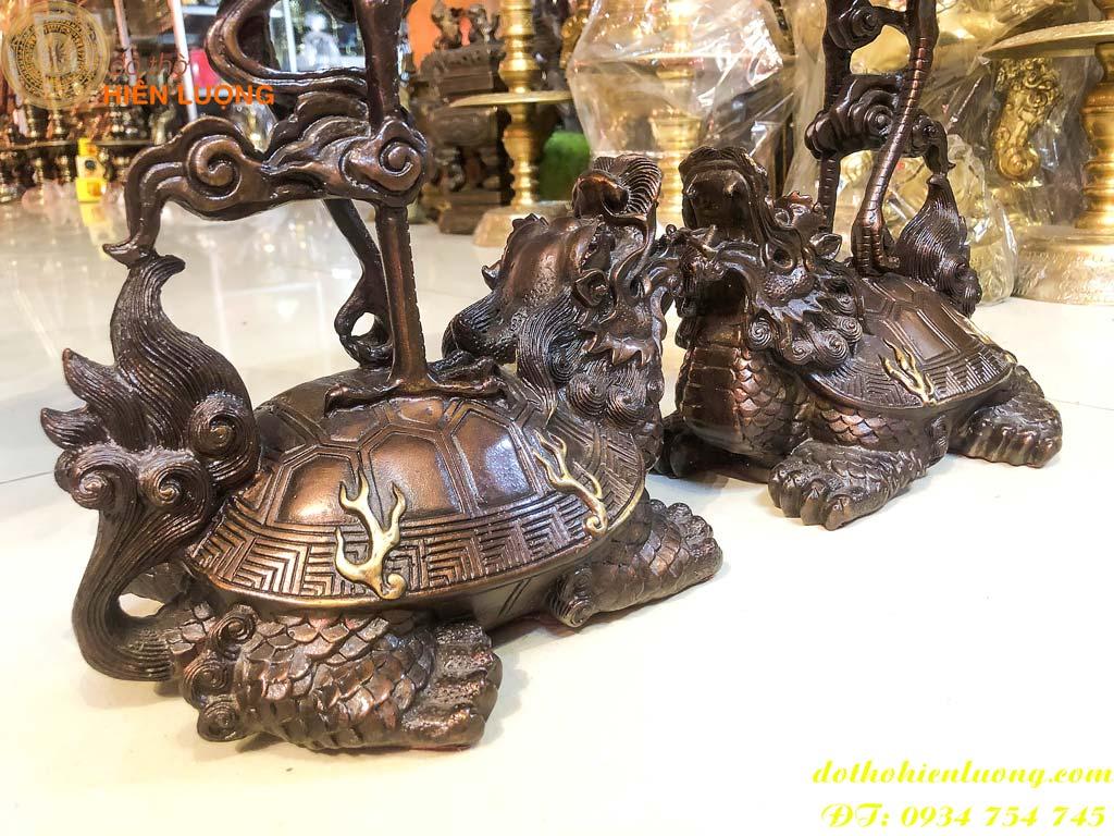 Hạc Ngự Lưng Rùa