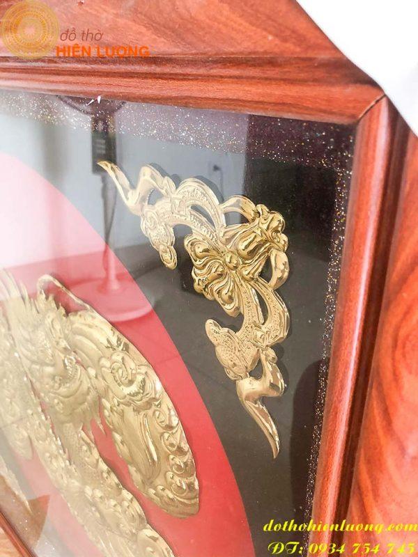 Tranh chữ Tâm Bằng Đồng hóa rồng