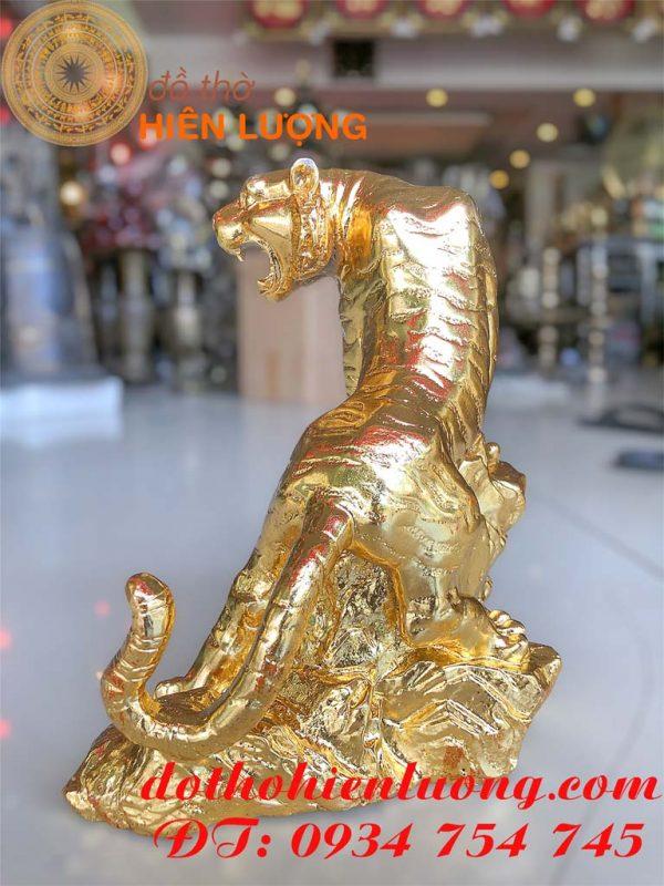 Tượng Hổ Dát Vàng 24K