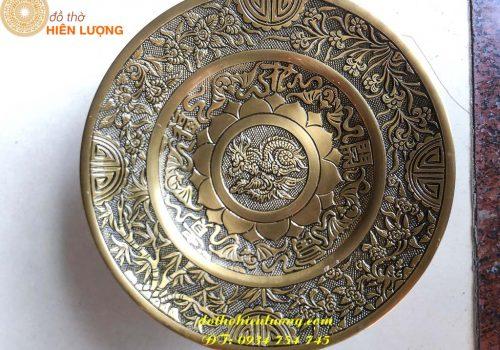 Ý nghĩa đĩa hoa quả bằng đồng trong thờ cúng