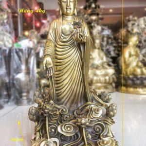 Tượng Phật Tổ Đứng Đài Sen