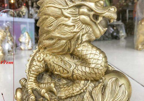 Rồng Cầm Ngọc Bằng Đồng